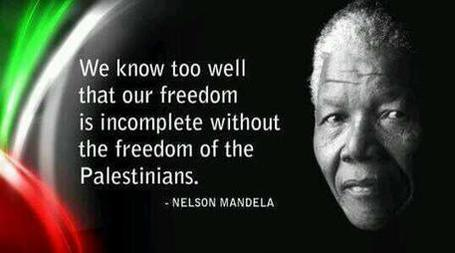 Mandela on Palestinians